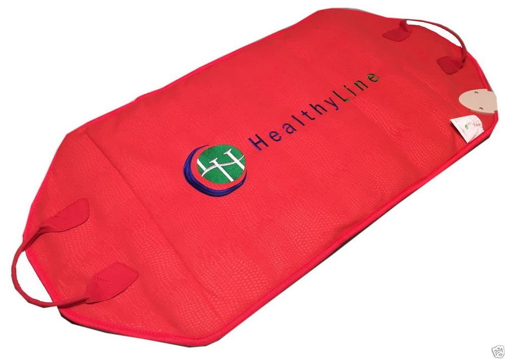 HealthyLine Natural Infrared Heating Pad - Relieve Pain, Stress & Insomnia - 36''x 18''  - Yellow Mud Clay & 12 Photon Red LED - Negative Ion - US FDA by HealthyLine (Image #3)