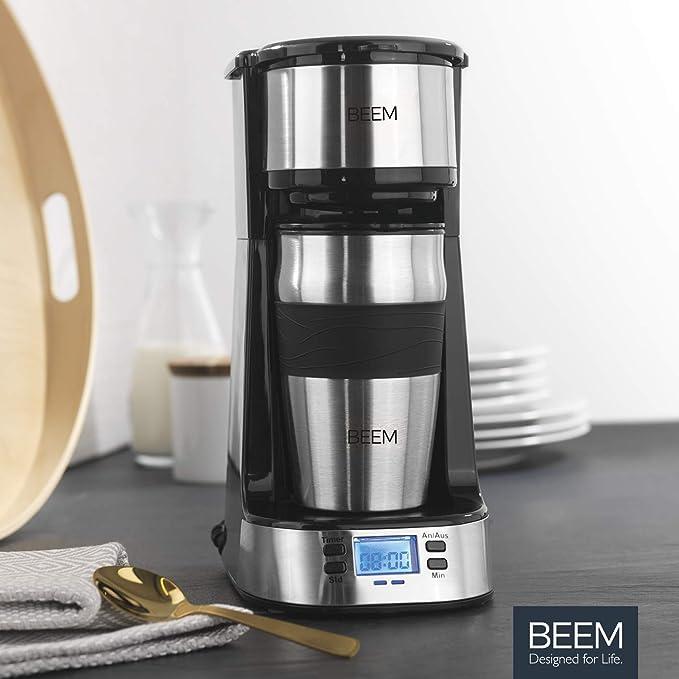 BEEM 1510SR Thermo 2 GO-Cafetera de Goteo Individual (Termo ...