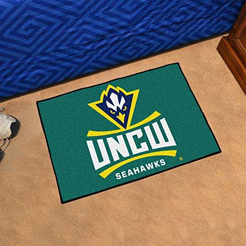 (FANMATS NCAA UNC University of North Carolina - Wilmington Seahawks Nylon Face Starter Rug)