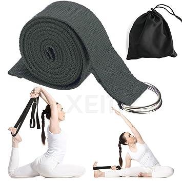 Correa de Yoga, Banda de Algodón para Sujetar Poses ...