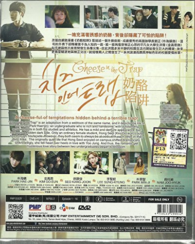 CHEESE IN THE TRAP - COMPLETE KOREAN TV SERIES DVD BOX SET (1-16 EPISODES)