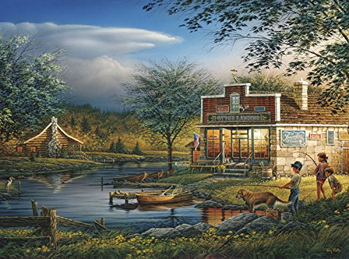 Buffalo Games - Terry Redlin - Summertime - 1000 Piece Jigsaw Puzzle (Terry Fun)