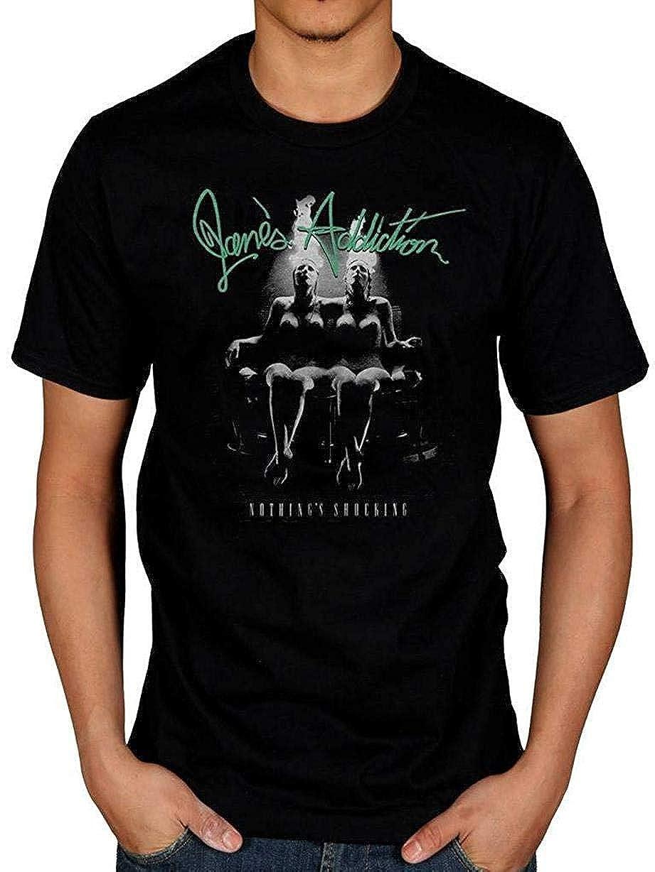 Zyy Jane S Addiction 3 Men S Men S Short Sleeve Heavyweight Crew Neck Shirts