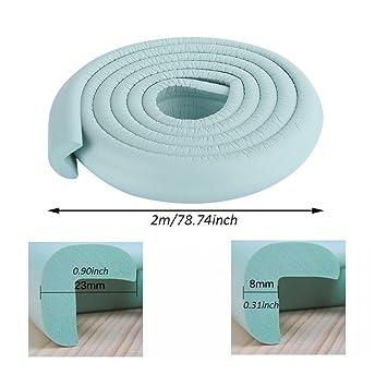 4 Pcs Kids Safety Desk Edge Bumper Corner Protection Cushion Cover Protect
