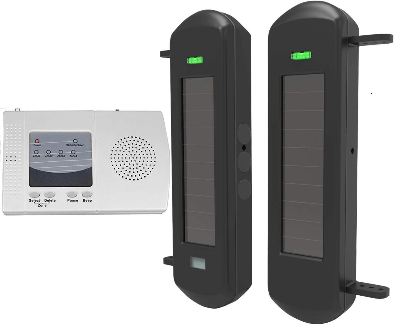 Htz Safe Solar Wireless Driveway Alarm System