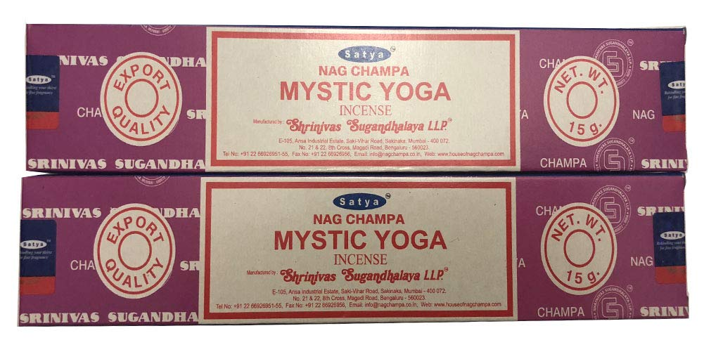 最新作の Satya Nag Satya Champa – Nag MysticヨガIncense Sticks Sticks – 2個のパック各15グラム B07C44CFTL, aline:768abea3 --- ciadaterra.com