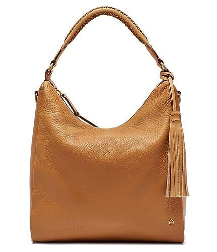 Sortendesign Online-Einzelhändler Kaufen Sie Authentic Amazon.com: Etienne Aigner Ava Hobo Camel Full leather Purse ...