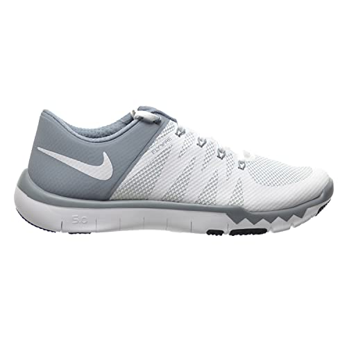 7e04085fbe0349 Nike Free Trainer 5.0 V6 Men s Shoes White Dove Grey Pure Platinum 719922-110  (7.5 D(M) US)  Amazon.ca  Shoes   Handbags
