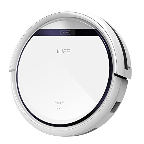 ILIFE V3s Robotic Vacuum Cleaner with Smart Auto Cleaning Dry Mopping Remote control for Pets Hair