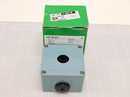 Schneider Electric XAPM1201 Caja Metalica Vacia 1 Taladro: Amazon.es: Industria, empresas y ciencia
