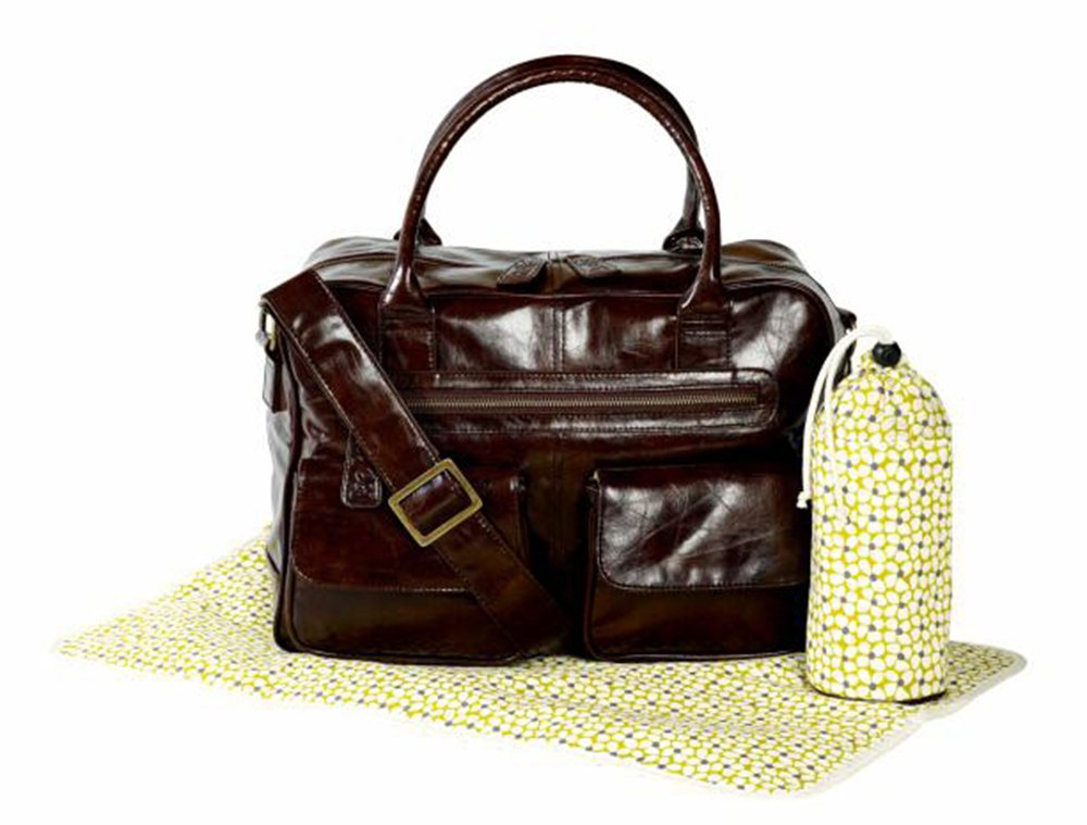 Koto Leatherette Baby Changing Bag (Brown) 5020892118343