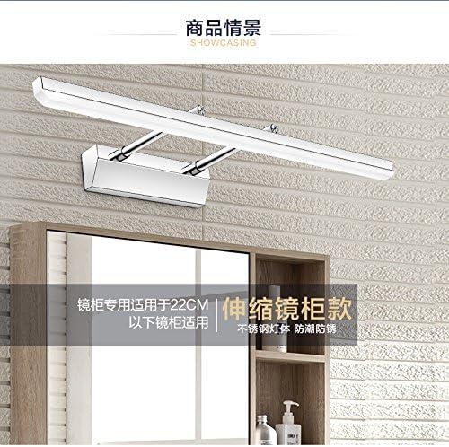 liyan minimalista aplique candelabro E26/27 Base Luz Delantera Led Espejo de baño cuarto de baño moderno de cristal luz minimalista del gabinete aplique Lámparas Escamoteables: Amazon.es: Iluminación