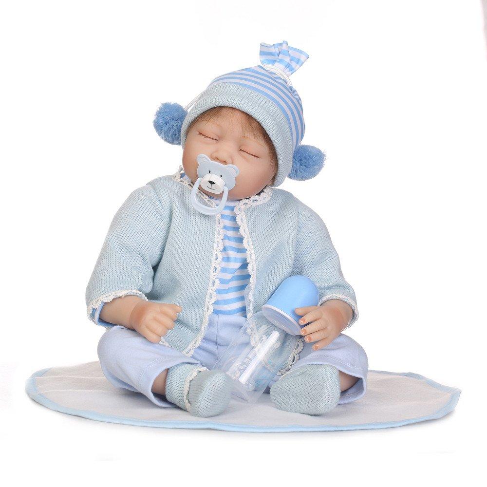 Bcfuda Giochi Giocattolo Bambino 1Anno 2 Anni 1 Pc Nuovo Manichino Pacificatore per Reborn Bambole con Interno Magnetico Accessorie