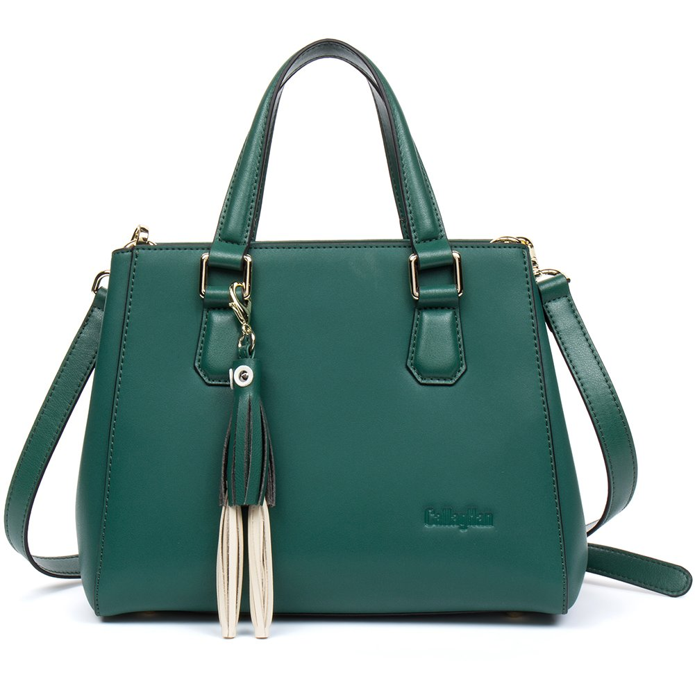 0da278ee57  Clearance Callaghan Leather Handbags Purse Top Handle Bag Satchel Shoulder  Bags for Women  Amazon.in  Bags