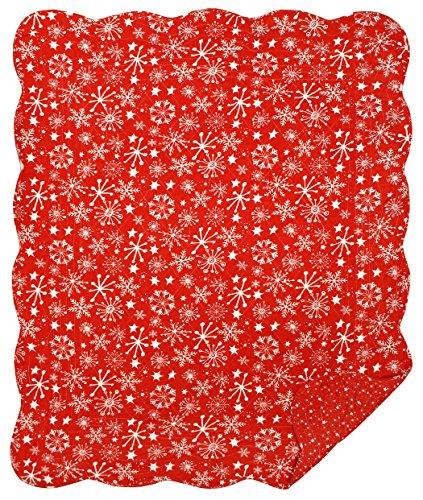 Great Finds 0296 Let It Snow Winter & Stars Pattern Snowf...