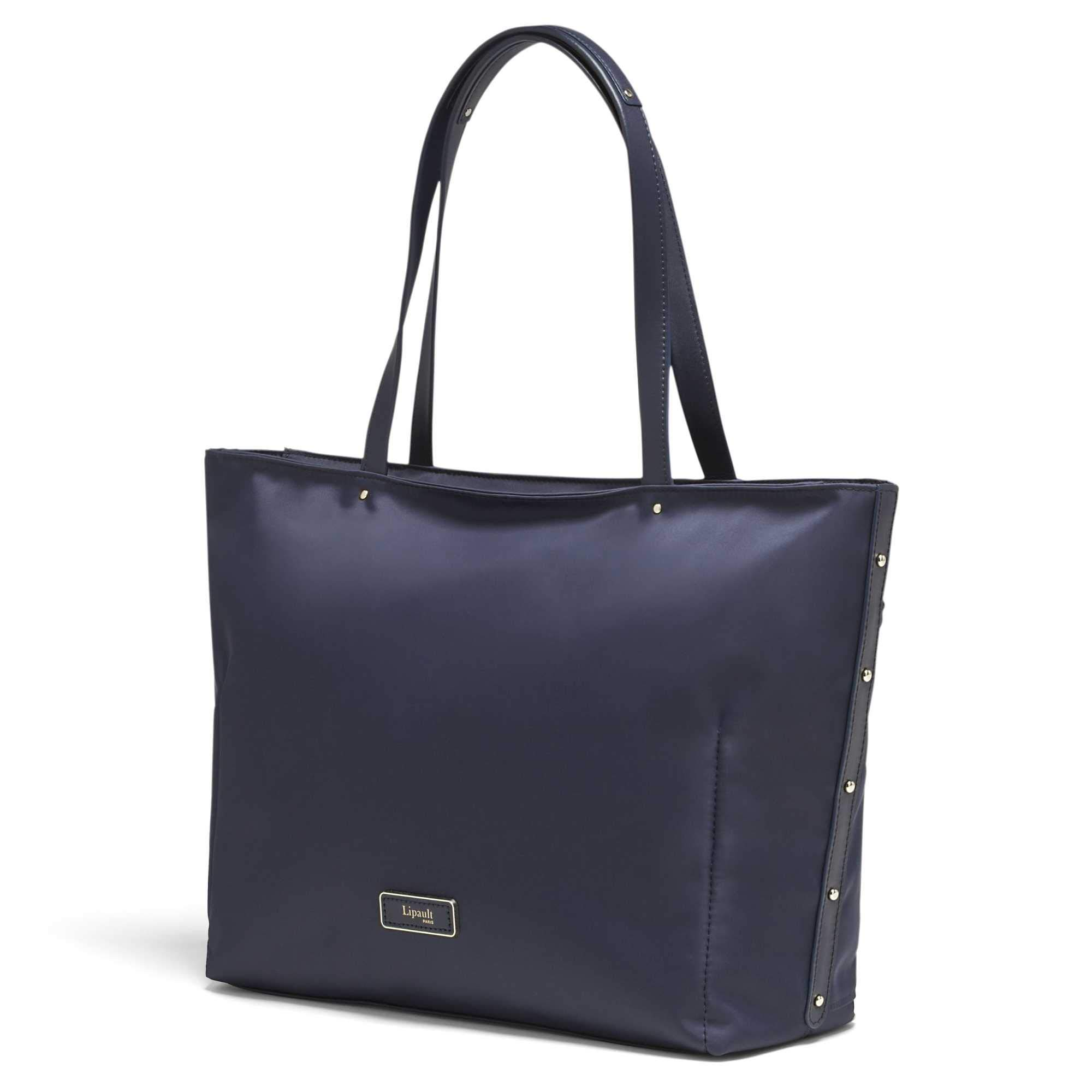 Lipault - Business Avenue Laptop Tote Bag - Top Handle Shoulder Handbag For Women - Night Blue, Medium by Lipault (Image #2)