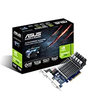 ASUS 710-1-SL Graphics Card for Silent HTPC Build (GeForce GT 710 1 GB, DDR3 Low Profile) - Black