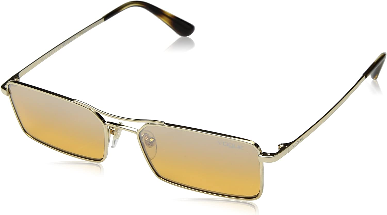Vogue 848/7H Gafas de sol, Pale Gold, 55 para Mujer