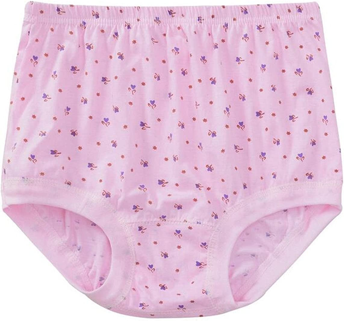 CRYYU Men Elastic Waist High Waisted Solid Color Cotton Comfy Panties