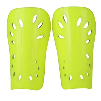 1 Pair Soccer Shin Guards Soft Light Football Shin Pads Supporters Sports Leg Protector For Children