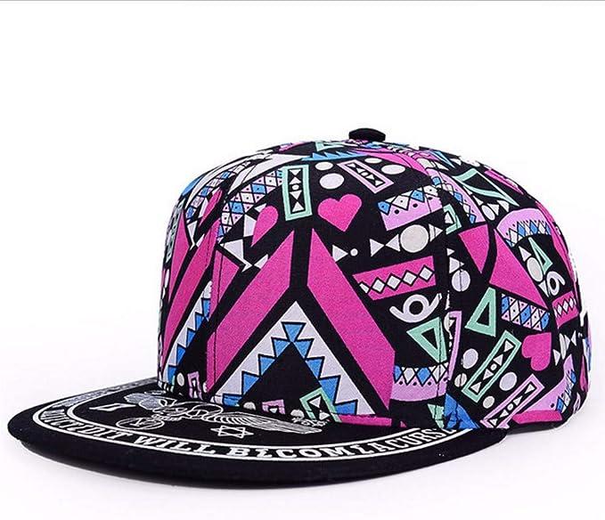 Moda Lindo Snapbacks para Mujeres Gorra Hip Hop Snapback Sombreros ...