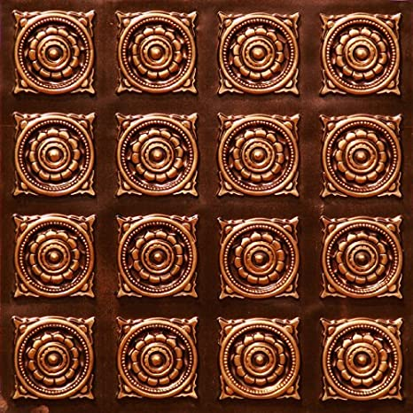 Very Cheap Decorative Plastic Ceiling Tiles Lowest Price Ceiling Tiles By Us Inc 128 Antique Copper Fire Rated Can Be Glue On Any Flat Surface Glue