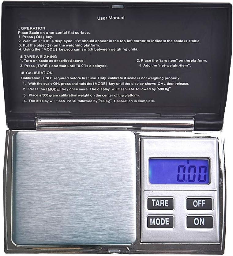 Mod Quantum Abacus Precise: Pr/äzisionswaage//Briefwaage//Feinwaage//Goldwaage//Taschenwaage pr/äzise 200gr // 0,01gr Einteilung DS-01-200g0.01