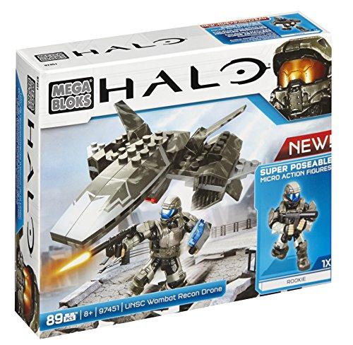 Mega Bloks Halo UNSC Wombat Recon Drone by Mega Bloks