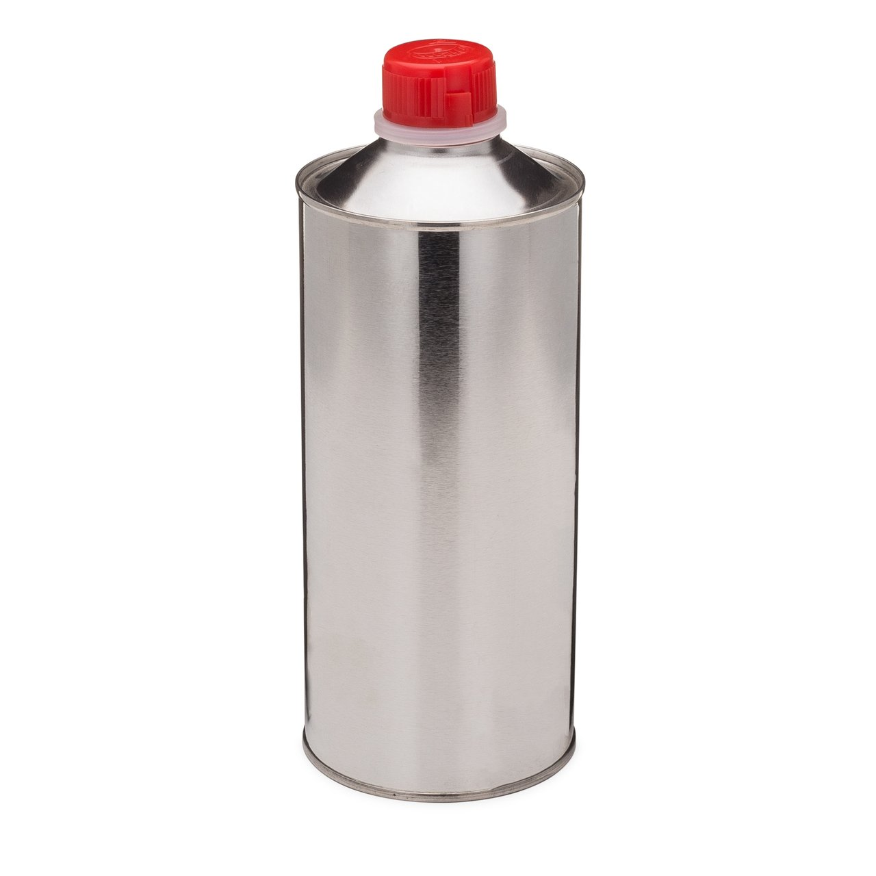 Tin-plated Cone-Top Steel Metal Can with Child-Resistant REL Cap, (32 Oz Capacity)