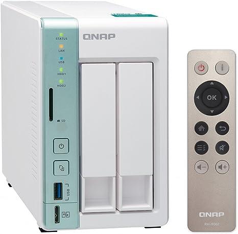 QNAP TS-251A Ethernet Torre Verde, Blanco NAS - Unidad Raid ...