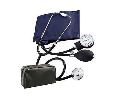 vetrineinrete® Tensiómetro aneroide con estetoscopio Medidor de la presión arterial a Bomba pulsera para medición de brazo con manómetro G2: Amazon.es: Industria, empresas y ciencia