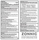 ZONNIC Nicotine Gum 4mg Mint -10 Count - Quit