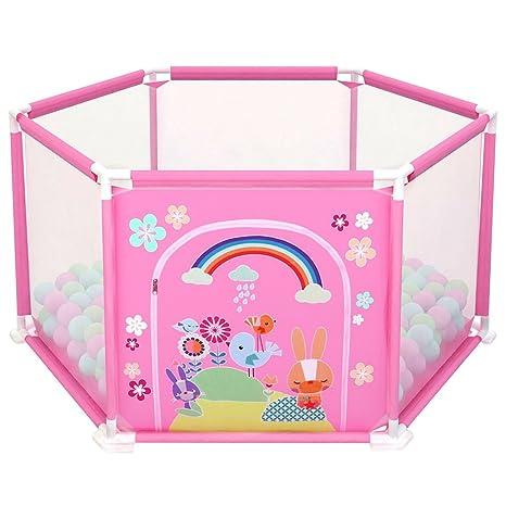 4ddffd386d7a deAO Box per Bambini Parco Giochi e Piscina di Palline Palestrina Include Palle  di Colore (