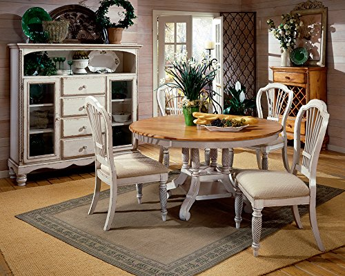 Hillsdale 5-Piece Round Dining Set with Side Chairs