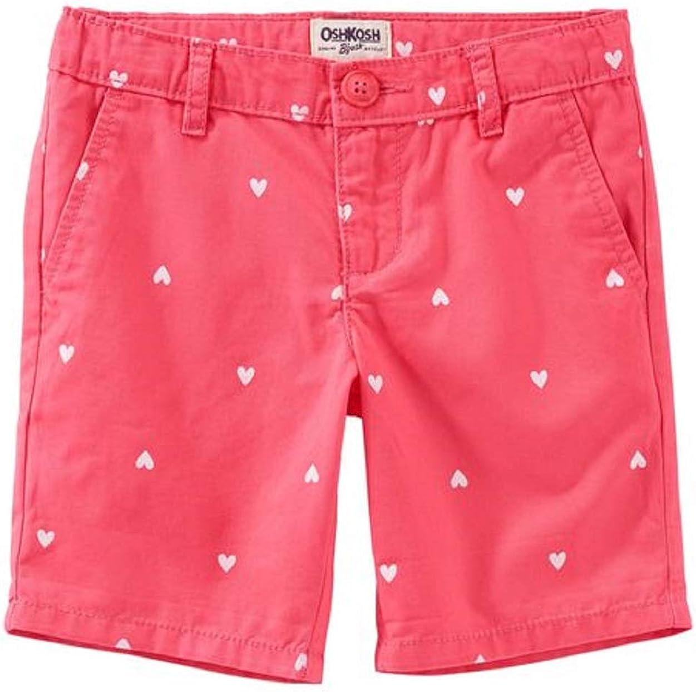 OshKosh BGosh Heart Uniform Shorts Size 5