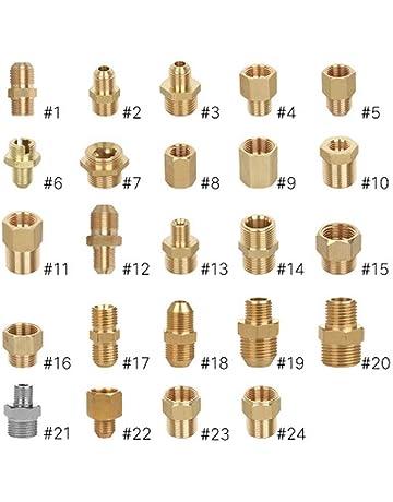 """4Pcs Hochdruckreiniger 15mm M und F auf 3//8 /""""Schnellkupplungs"""