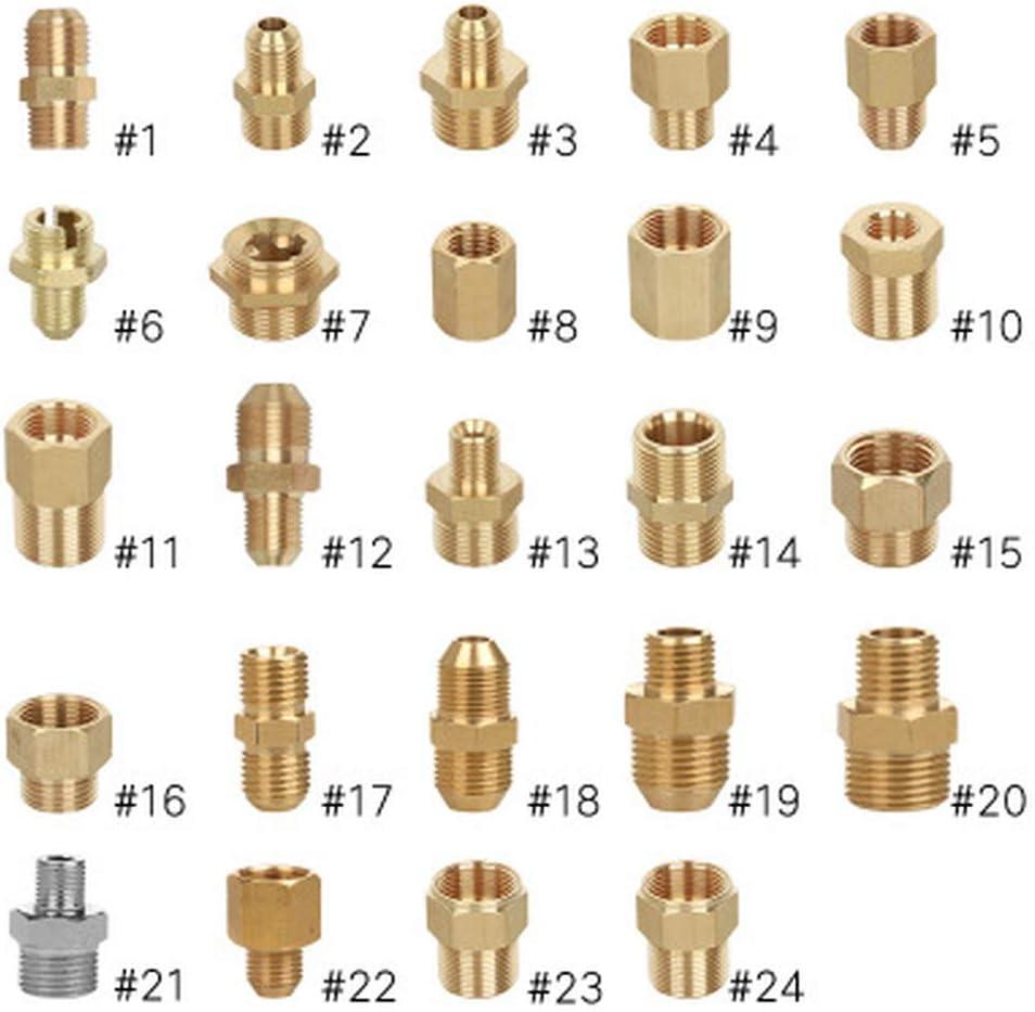 Desconocido G1/8 1/4 3/8 1/2 Pulgadas Rosca ~ M14/18/22 Rosca ...