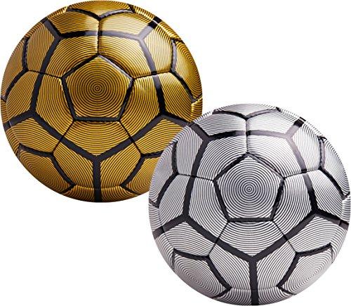 American Challenge Bergamo Soccer Ball (Gold/Black, 5)