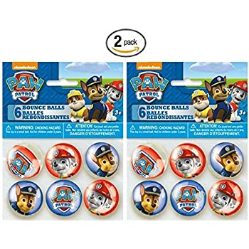 Paw Patrol 6ct Bounce Balls - 2 Pack
