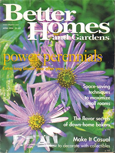 Better Homes And Gardens Magazine, April 1998 (Vol. 76, No. 4)