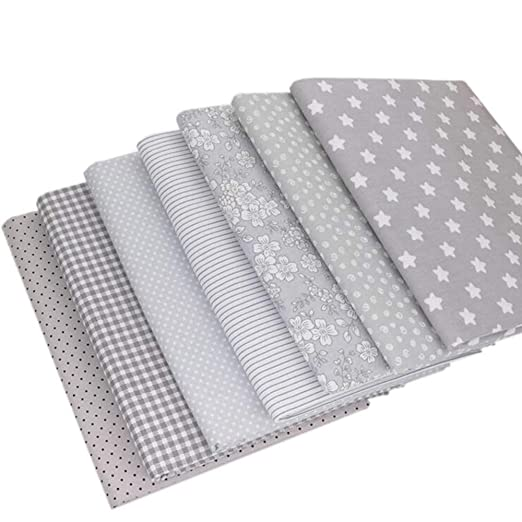7 piezas de tela de algodón de 40 x 50 cm para patchwork ...