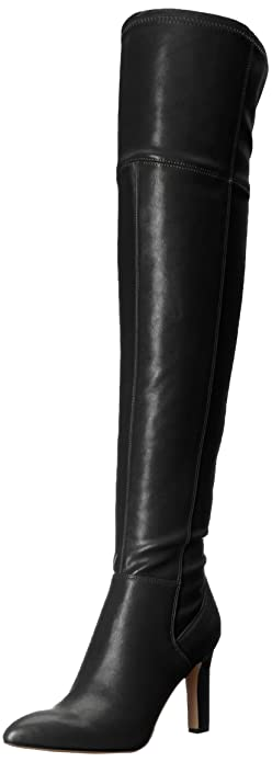 f0333a392ac Franco Sarto Women s Katie Over The Over The Knee Boot Black 5 Medium US