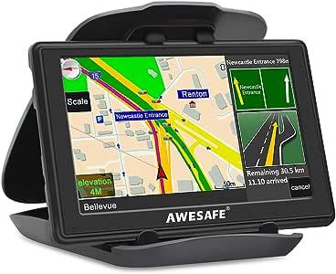 Sat Nav - Sistema de navegación GPS de 5 Pulgadas, 8 GB, 256 MB, para Coche, navegador, satélite con actualizaciones de mapas Europeas de por Vida: Amazon.es: Electrónica