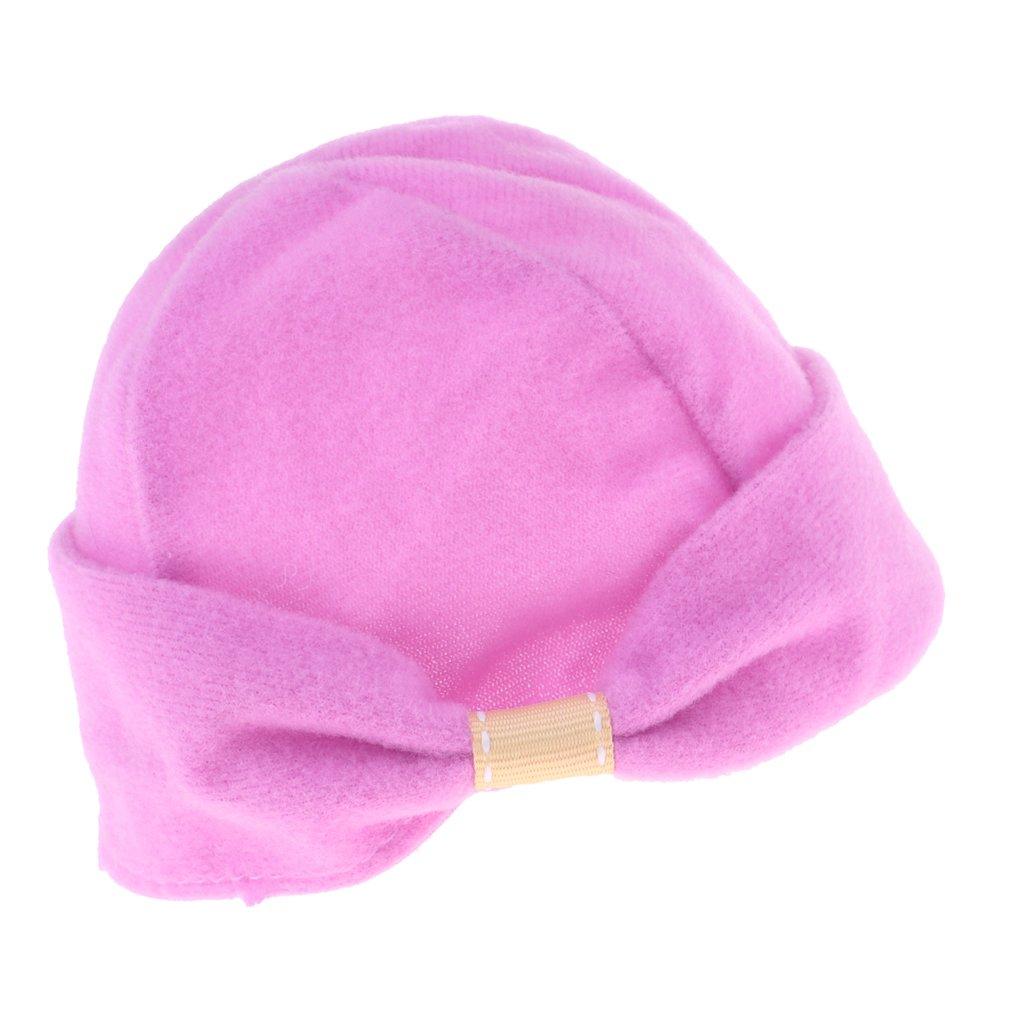 Violet CUTICATE Accessoires De Poup/ées Accessoire Chapeau Chapeau Rond en Peluche pour Poup/ée Am/éricaine 18 Pouces
