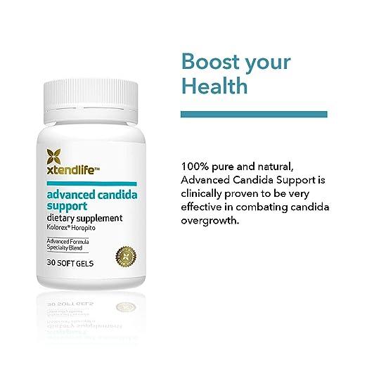 Amazon.com: Xtendlife Advanced Candida Support Supplements ...