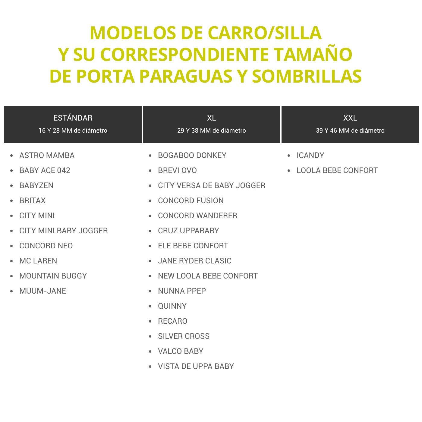 Porta Paraguas y sombrillas universal y desmontable de Jicaclick ...