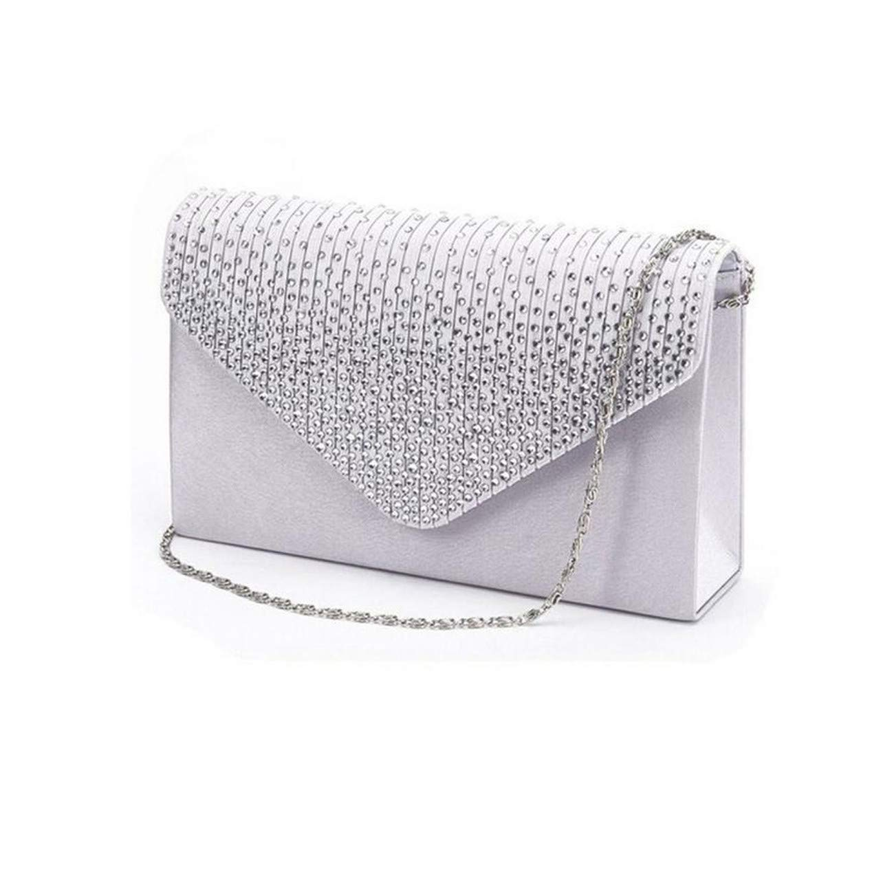Satin Clutches Evening Bags...