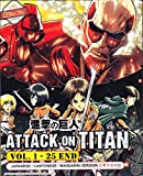 Attack On Titan - Anime Eps. 1-25 END / English Subtitle