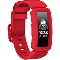 GVFM Compatible with Fitbit Ace 2 Bands for Kids 6+, Soft Silicone Waterproof Bracelet Accessories Sport Strap Boys…