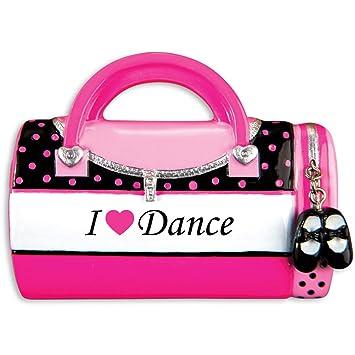 Amazon.com: Bolsa de niño s Dance personalizable adorno de ...